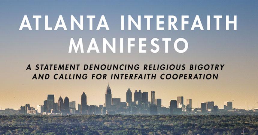 Atlanta Interfaith Manifesto