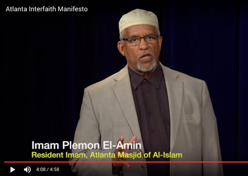 Watch the Atlanta Interfaith Manifesto Video